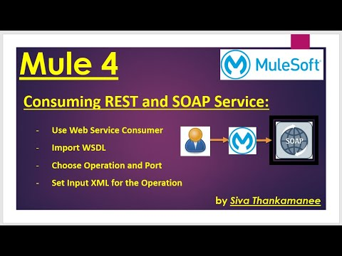 MuleSoft || How to Consume SOAP and REST Web-Services in Mule-4?